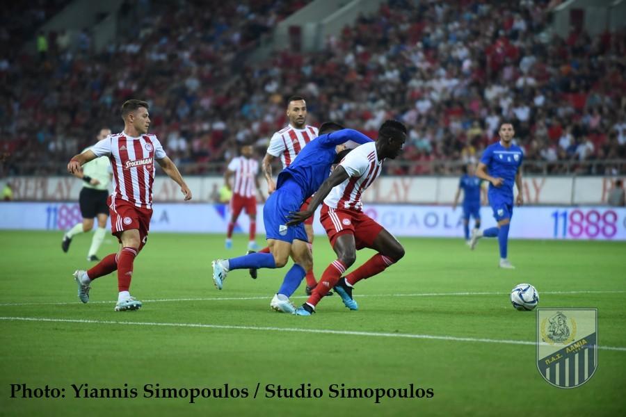 Ολυμπιακός – ΠΑΣ Λαμία 2-0