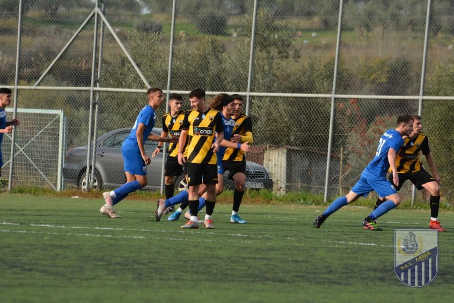 Κ19: ΠΑΣ Λαμία – ΑΕΚ 0-3